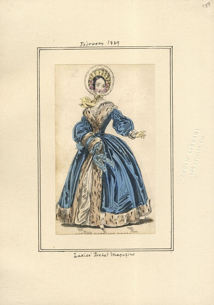 Ladies' Pocket Magazine February 1839 LAPL