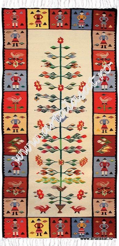 Arta Populara Romaneasca :: covoare si carpete -- COVOR - CREATIE ARTALASAT