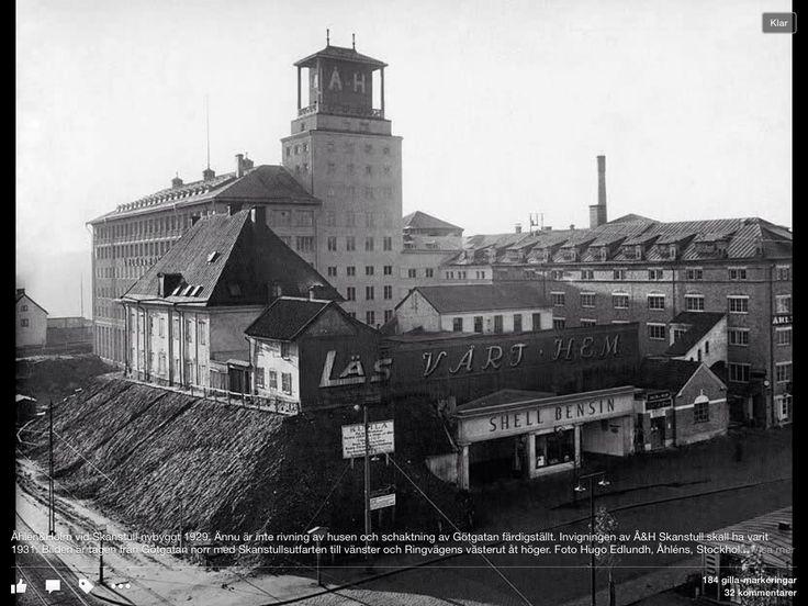 Skanstull 1931, Åhlens
