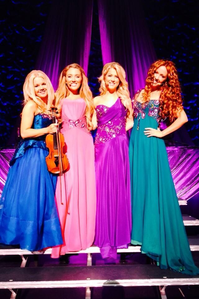 Celtic Woman...Love their dresses!! Such pretty colors..they are all so…