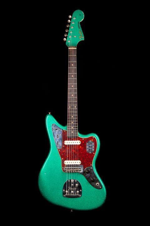 Fender Custom Shop Jaguar in Sherwood Green