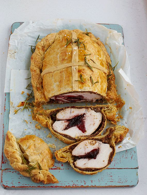 This holiday, put a twist on the traditional roast turkey by trying Jamie's Turkey Wellington recipe from Sobeys. Perfect for smaller families.