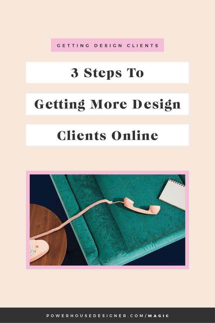 Get More Design Clients Online My Billie Designs Design Clients Freelance Web Design Creating A Newsletter