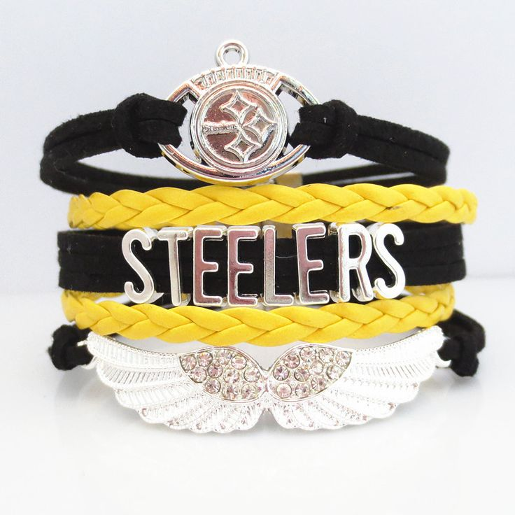 Love Pittsburgh Steelers Football Magnetic Bracelet - 50% OFF Sale