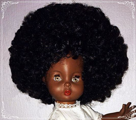 Pusle Maria with afro.
