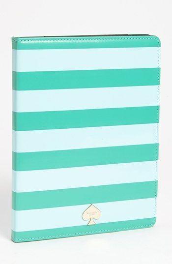 kate spade new york 'petula stripe' iPad 2 & 3 folio | Nordstrom