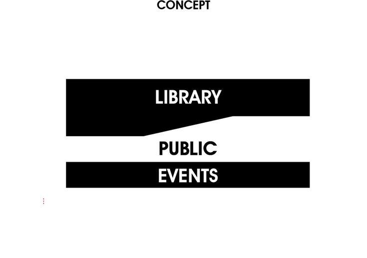 Daegu Gosan Public Library Competition Entry / Group8,library scheme concept diagram
