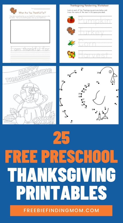 Predownload: 25 Free Preschool Thanksgiving Printables Freebie Finding Mom Thanksgiving Preschool Free Preschool Thanksgiving Activities Preschool [ 1324 x 736 Pixel ]