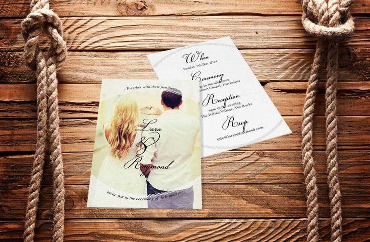Wedding Invitation Invite Love Heart www.vivianyeung.com