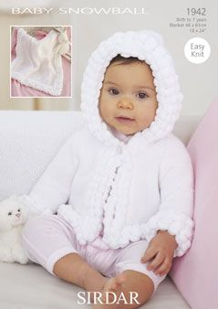 Baby snowball jacket pattern