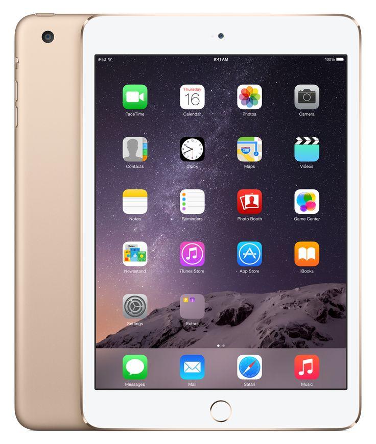 iPad mini 3 - Pre-order the new iPad mini 3 now - Apple Store (U.S.) (GOLD!!)