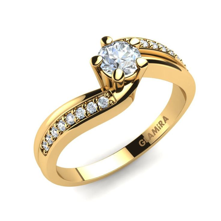 Today Gold engagement rings are very much in demand.