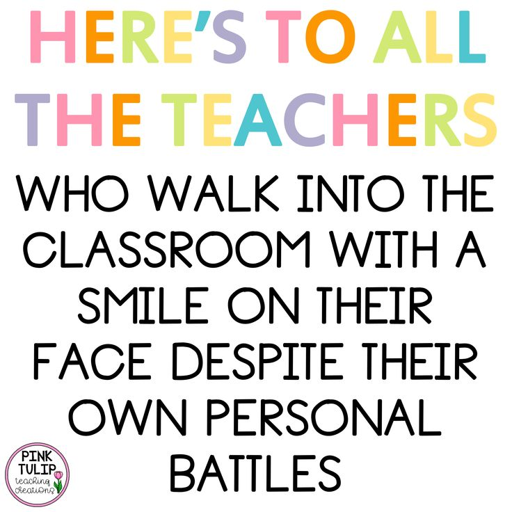 Here's to all the teachers who walk into the classroom with a smile on their fac…