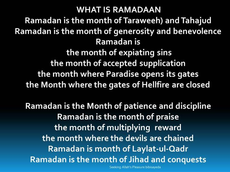 meaning of ramadan