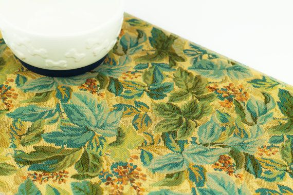Cat Food Mat, Small 12x18, Waterproof Mat, Pet Placemat, Cat Litter Mat, No Mess Mat, Dog Food Mat, Antibacterial, Non Skid, Country Floral
