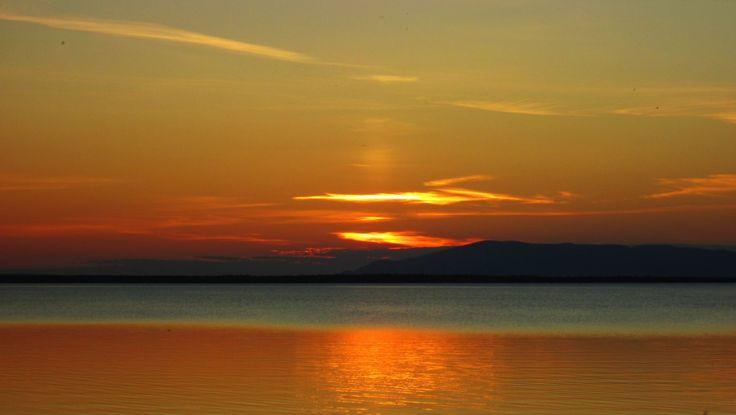 Закат над Имандрой