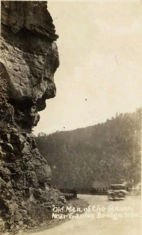 Old Man of the Canyon Near Gauley Bridge, WV