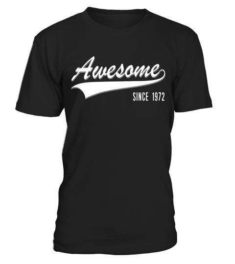 """# 45th Birthday gift shirt Awesome Since 1972 45 year old Tee .  Special Offer, not available in shops      Comes in a variety of styles and colours      Buy yours now before it is too late!      Secured payment via Visa / Mastercard / Amex / PayPal      How to place an order            Choose the model from the drop-down menu      Click on """"Buy it now""""      Choose the size and the quantity      Add your delivery address and bank details      And that's it!      Tags: This is the perfect…"""