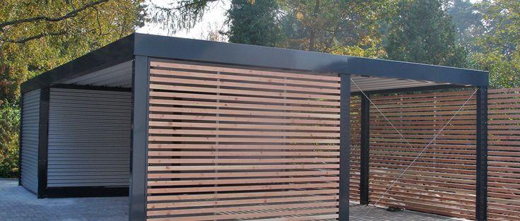 designo – Stahl-Carport
