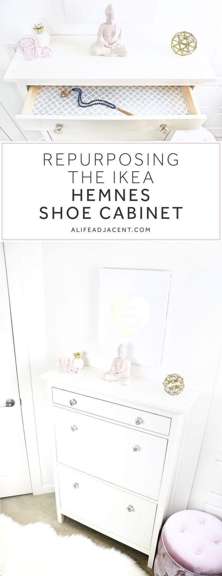Umnutzung des IKEA Hemnes Schuhschrankes für einen kleinen