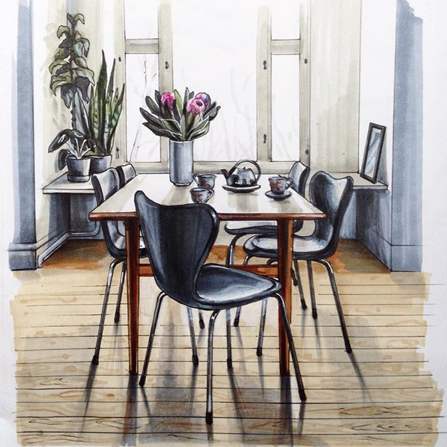 @fritz_hansen вдохновляет #sketch #sketching #texture #sketchzone #archfolios #interior #home #sketch_daily #archisketcher #sketch_arq #arquitetapage #sketchmuseum #arqsketch #arq_sketch #copic #nawden  #arch_cad #arch_grap #alvindrafting #arch_sketch #arquisemteta #handrendering #marker #copic #tehran_arch #bestsketch #drawuroom #fritzhansen #matveeva_sketch