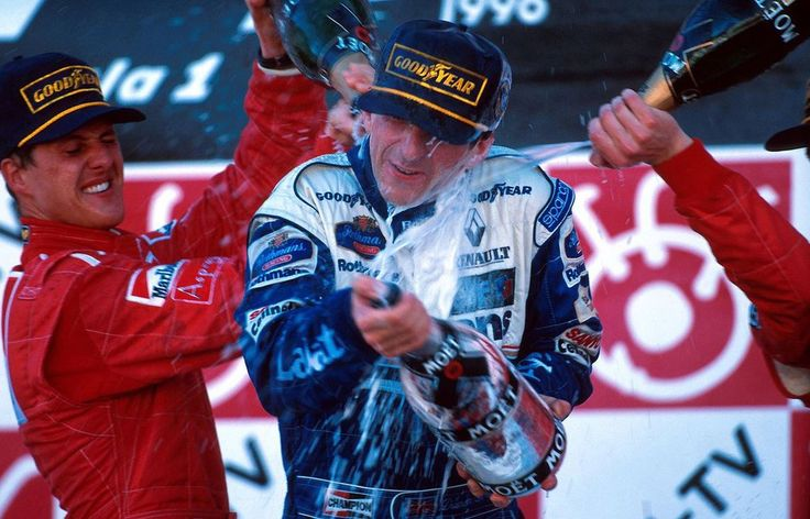 Michael Schumacher | Damon Hill (Japan 1996) by F1-history