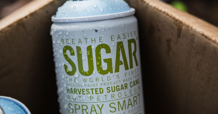 Eco-friendly SUGAR spray paint - CherylStyle