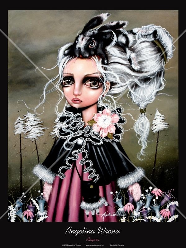 Angora Poster | The Artwork of Angelina Wrona