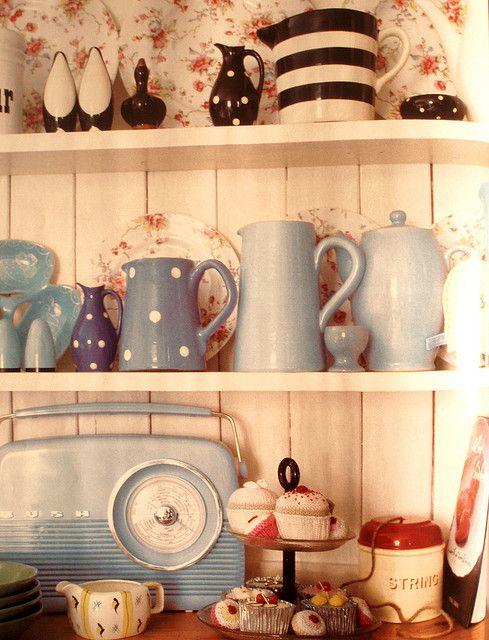 Welsh Dresser beautifully filled!