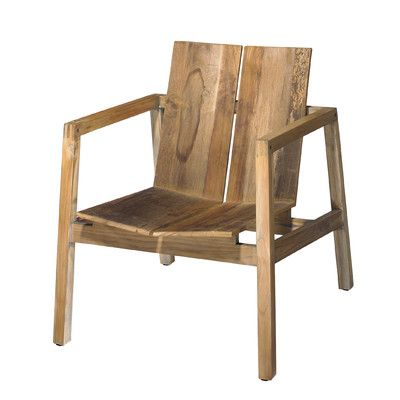 Urbia Naturals Old Wood Arm Chair