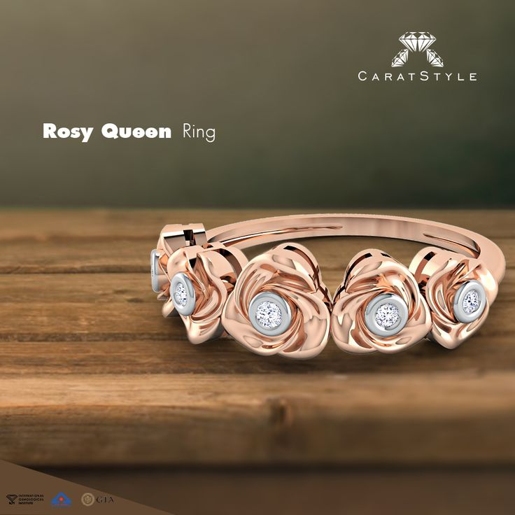 If you want to be the #kingofherheart forever, we suggest Rosy Queen #Ring…