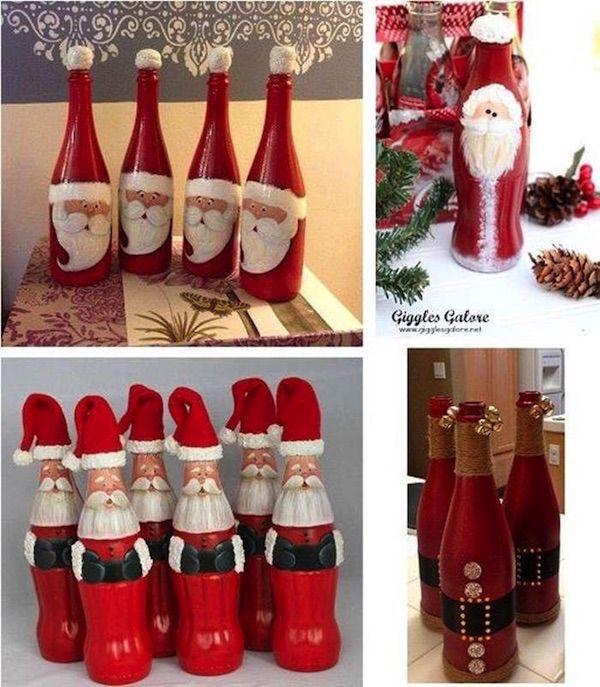 adornos de navidad reciclados 22 - Vivir Creativamente