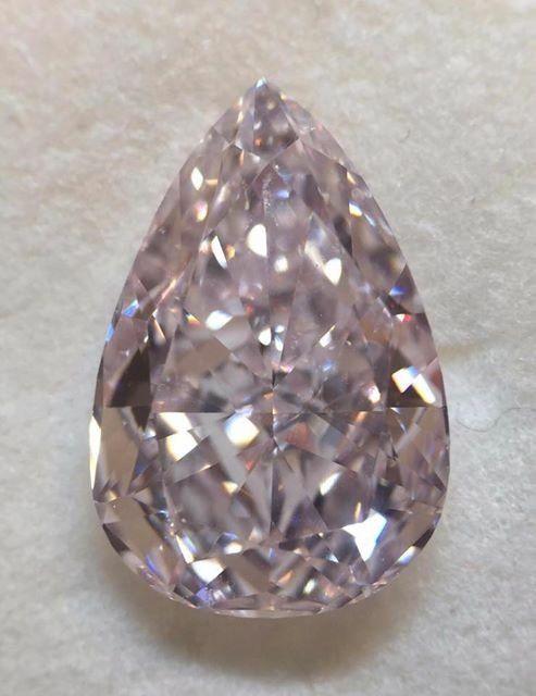 5.18 carat FANCYS Color Type   A™ Pink Diamond
