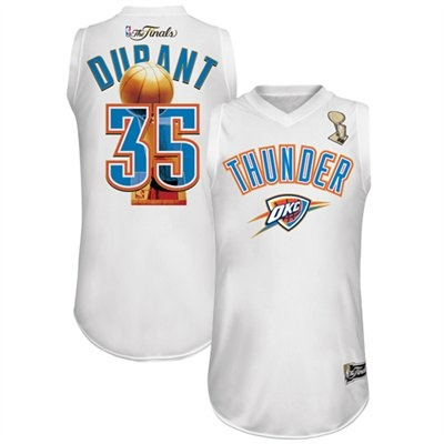 Kevin Durant Oklahoma City Thunder 2012 NBA Finals Bound Jersey