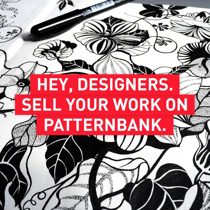 Calling all Textile Designers. Sell your Print Designs Online in the Patternbank Studio https://patternbank.com