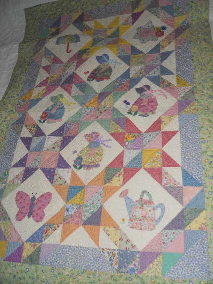 This Quilt Is Themed Around The Common And Popular Quilt