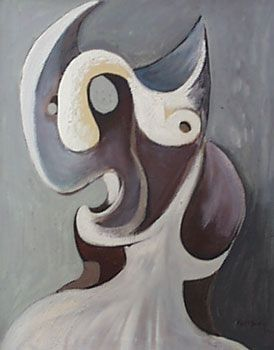 Emil Filla, what a great portrait! WOW