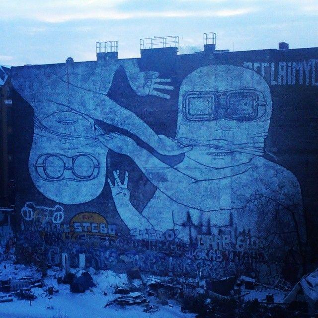 Pt.1 right side: an amazing masterpiece by #Blu in #Kreuzberg, #Berlin #XBerg #streetart #instagram