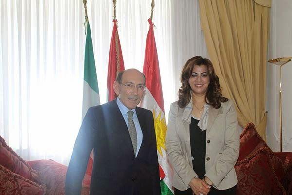 A proposito del meeting avvenuto a Roma lo scorso 14 maggio tra Ignazio Moncada, dirigente di Fata, e l'Alto Rappresentante del Governo Regionale del Kurdistan (KRG) in Italia, Rezan Kader, riportiamo gli aspetti più importanti