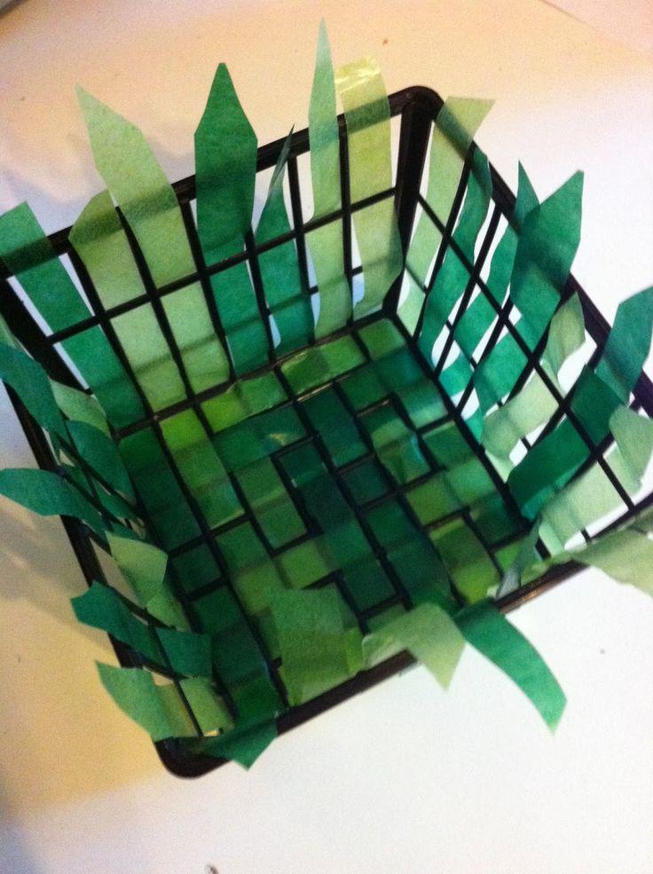 die besten 25 osterk rbchen basteln mit kindern kostenlos ideen auf pinterest osterk rbchen. Black Bedroom Furniture Sets. Home Design Ideas