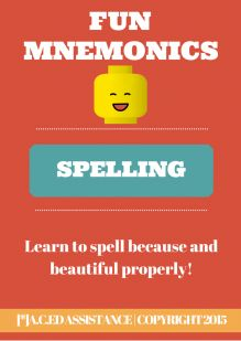 Mnemonic Spelling Strategies
