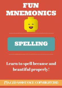 Mnemonic Spelling Strategies