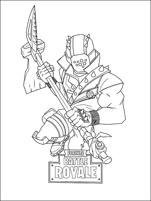 Best Fortnite Coloring Pages Printable FREE Fortnite