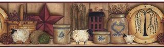 Wholesale Primitive Wallpaper Border - HD Wallpaper Collection ...