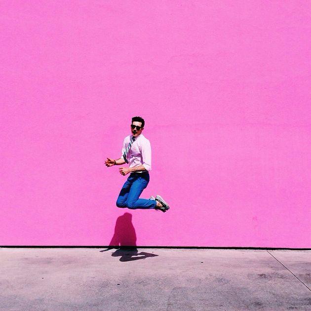 Trending SS14 - brightly coloured wall #ootd #thedailydagny #brightbazaar