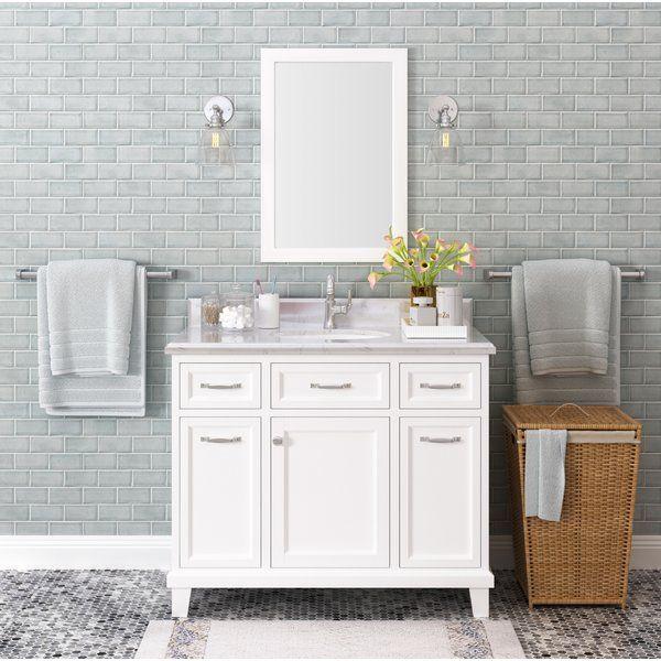 Tristian 42 Single Bathroom Vanity Set Single Sink Bathroom