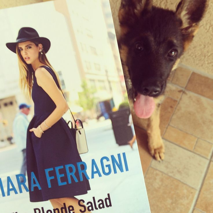 Must have book: Chiara Ferragni - The Blonde Salad. Love it!