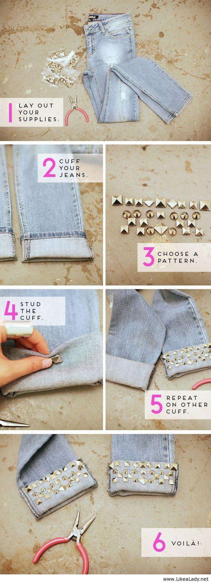 Useful fashionable DIY idea
