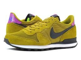 Image result for nike green and yellow internationalists