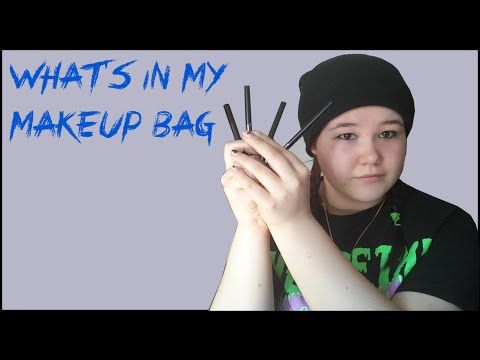 YouTube whats in my makeup bag